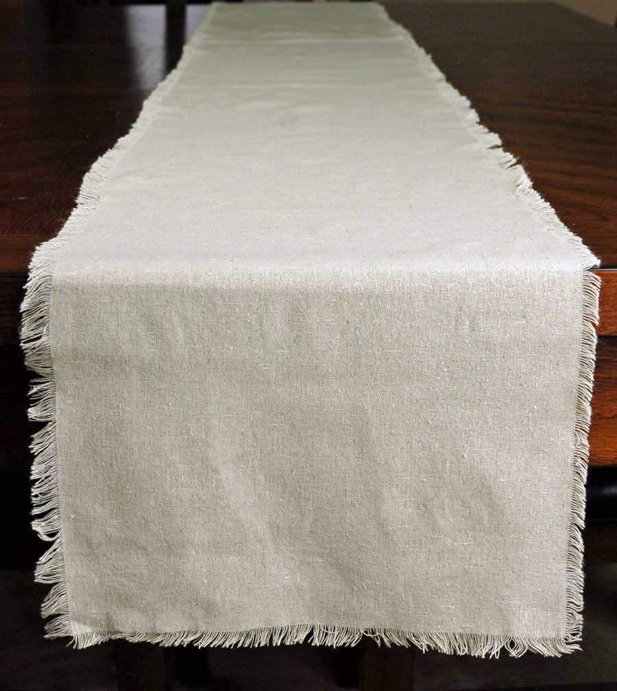 Linen table runner 12 5 x 120 wedding table by for 120 table runners