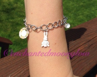 Alice Through The Looking Glass Charm Bracelet