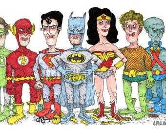 Justice League Homies