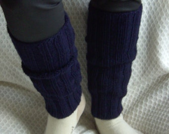 Hand-knitted Leg Warmers
