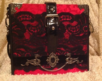 Dragon cigar box purse