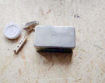 Vintage Medical Box/Vintage Syringe Container/Metal Medical Box/Soviet Medical Box/Syringe Sterilizer/USSR Vintage/Soviet Collectibles