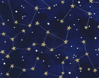 constellation fabric etsy