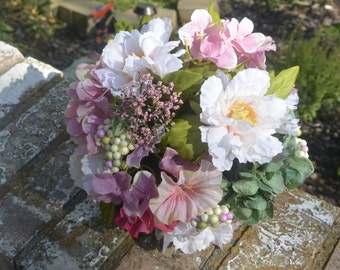 Spring Mix Bridal Bouquet  CLEARANCE
