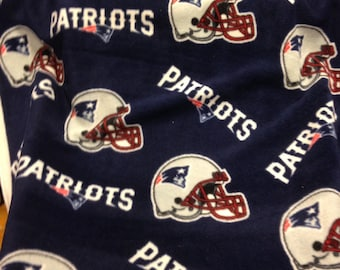 Made to Order no sew New England Patriots fleece blanket