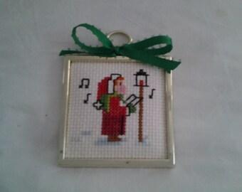 Christmas caroler ornament