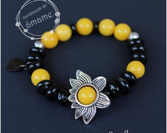 Sunflowers Bracelet