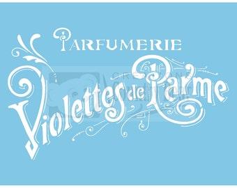 Stencil - Parfumerie - ST-207