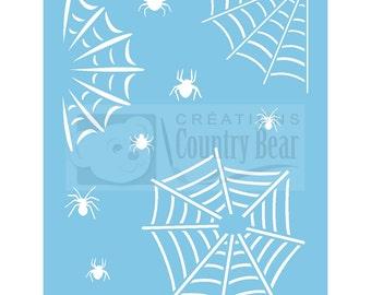 Stencil - Spider Web - ST-051