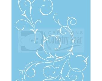 Stencil - Scrolls - ST-009