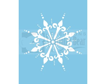 Stencil - Victorian Snowflake 1 - ST-002