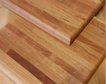 cutting board reclaimed cherry