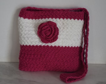 Crochet girls bag