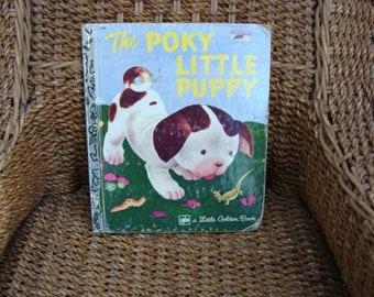 Vintage 1977 The Poky Little Puppy Little Golden Book # 506