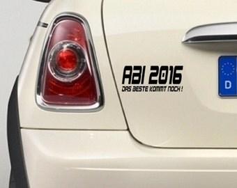 """Sticker """"Abi"""""""