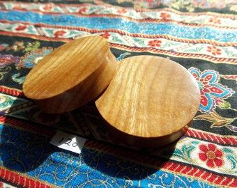 46mm Handmade Wooden Ear Plugs