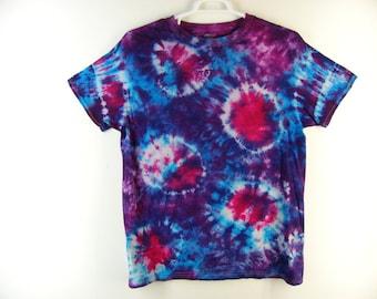 Tie Dye Sunburst Shirt 100% Cotton