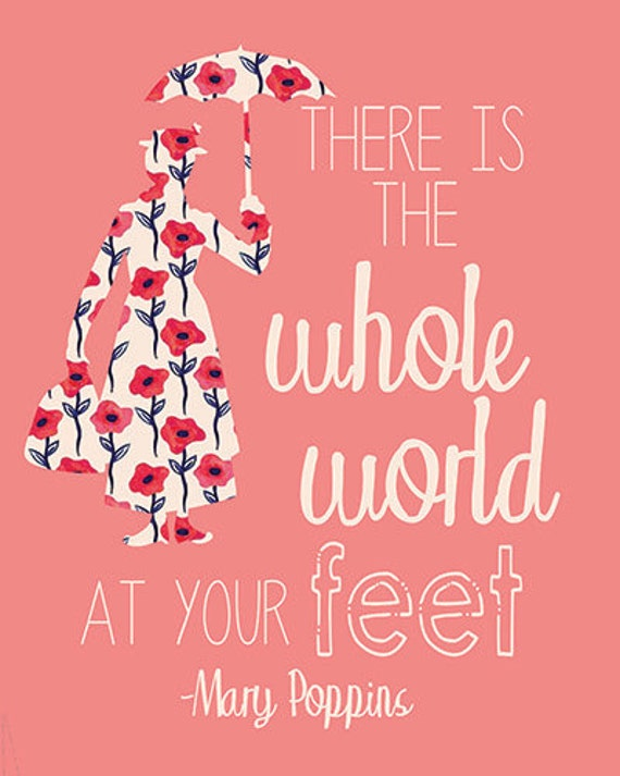 there is the whole world at your feet mary by freckledinkling