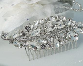 Bridal comb, Crystal Bridal Hair Comb, Wedding Hair Accessories, Crystal Hair Comb, Wedding Comb, Bridal Hair Accessories