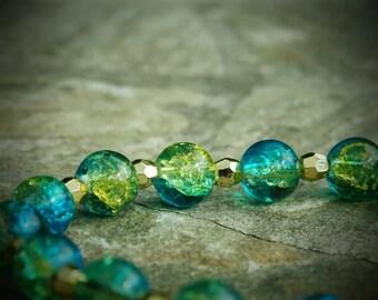 Dragonfly Glitter Bracelet