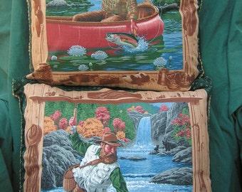 Fisherman Decorative PIllows - Set of 2