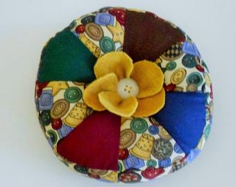 Handmade Flower Pincushion