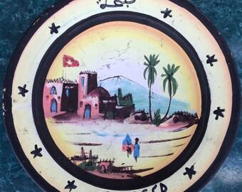 beautiful Moroccan  ceramic wall palate