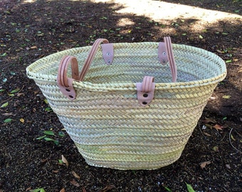Moroccan handcrafted natural beach bag