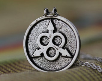 antique silver Nurgle necklace steampunk jewelry Christmas gifts N719