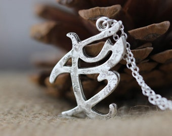 THE MORTAL iNSTRUMENTS sHADOWHUNTER charm FEARLESS rune pendant necklace Christmas gifts  N723