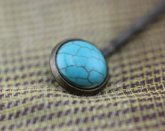 blue Turquoise hairpin Christmas gifts