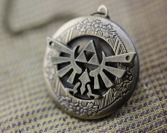 the legend of zelda locket jewelry Christmas gifts