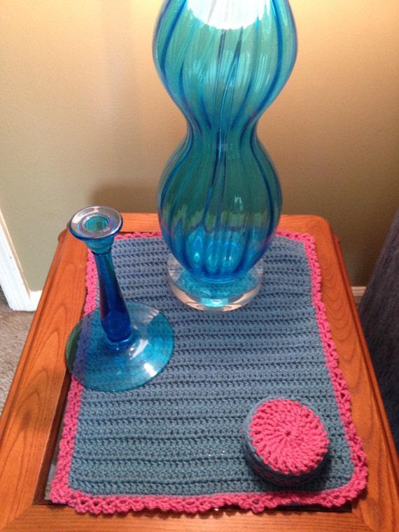 Crochet Scarves Dollies Home Decor Shower Gift Living Room