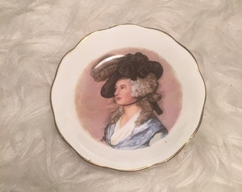 Quirky Vintage Small Plate