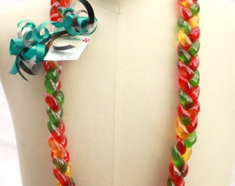 Sweet Aloha with a Yummy Gummy Candy Lei