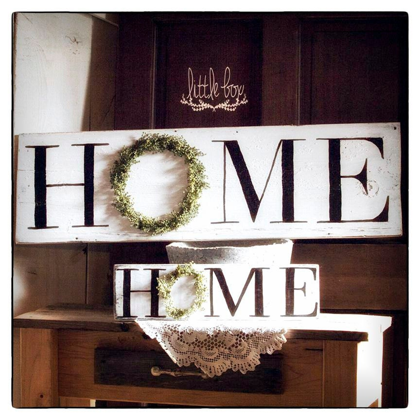 Home wreath sign farmhouse decor home sign by for Home by decor