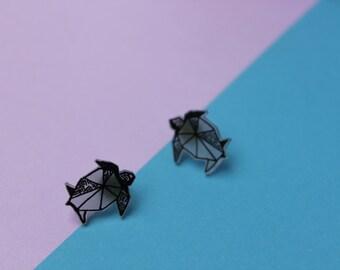 Chips tortoises / Turtles Earrings