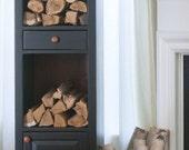 Firewood Chimney Cabinet
