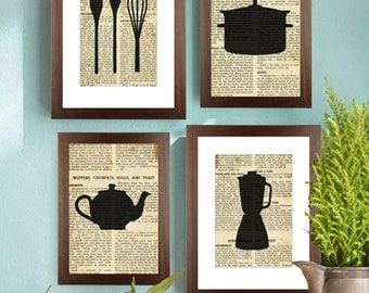 Kitchen prints, Mixer whisk on old paper, Printable Art, Wall Decor, Digital prints, Digital poster print Instant Download 8x10
