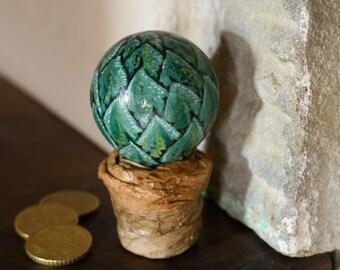 Handmade decorative succulent