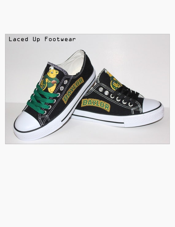 baylor football teams shoes sports s by lacedup209