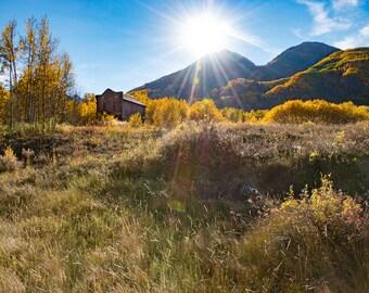 Ashcroft Hotel Near Sunset - Colorado Photography