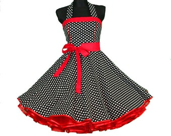"""The """"Rockabilly"""" Dress in Toddler 3T, Girls 4-10, and Ladies XS-L"""