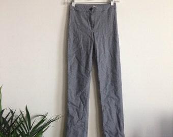 Plaid Trousers Sz S
