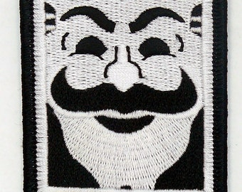"""FSOCIETY  MR ROBOT 4"""" X 3"""" tv show iron & sew on Patch - free shipping"""