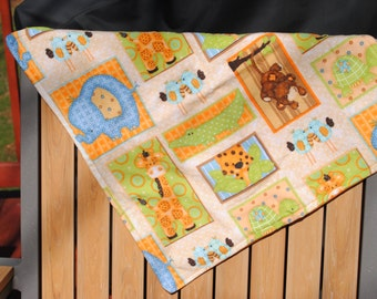 Snuggle Blanket Zoo Animals