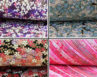 Cherry Blossom Japanese Paper, Washi Paper, Origami Paper, Handmade Paper, Chiyogami, Yuzen, Crafting paper, floral paper