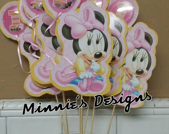 Baby Minnie mouse 1st birthday, Minnie mouse first birthday,  Baby Minnie mouse dress,Baby Minnie mouse shirt,Baby Minnie mouse centerpiece