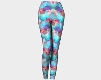 Colourful Polygon Leggings