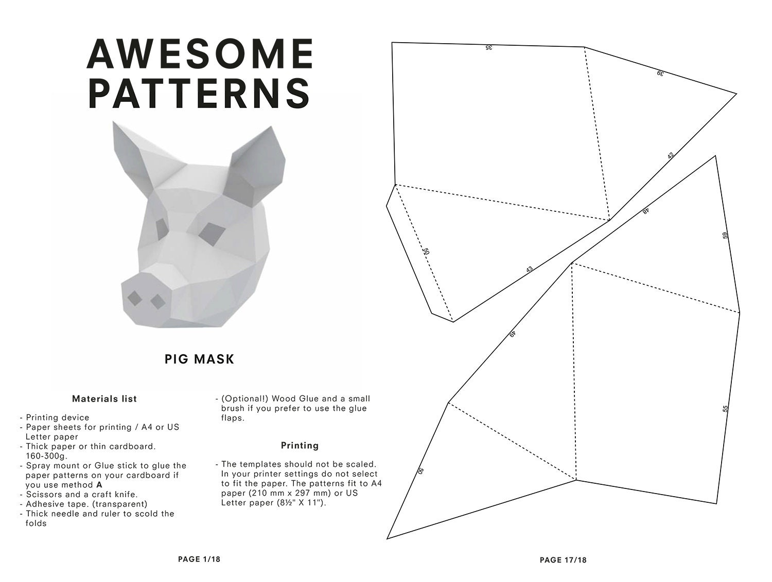 Get Free High Quality HD Wallpapers Wintercroft Fox Mask Template Download